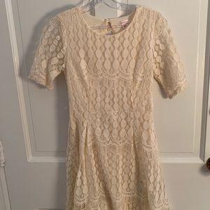 Xhilaration White Lace Dress
